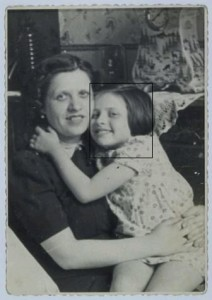 "Fella Flamberg and her mother ""Bertha"""